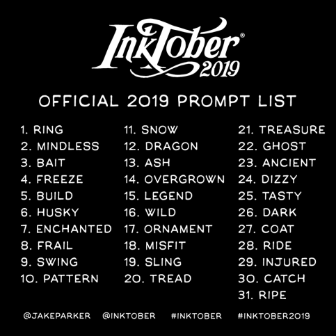 2019-inktober-prompt-list