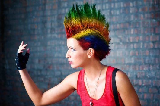 short-punk-hairstyles-colorful-mohawk